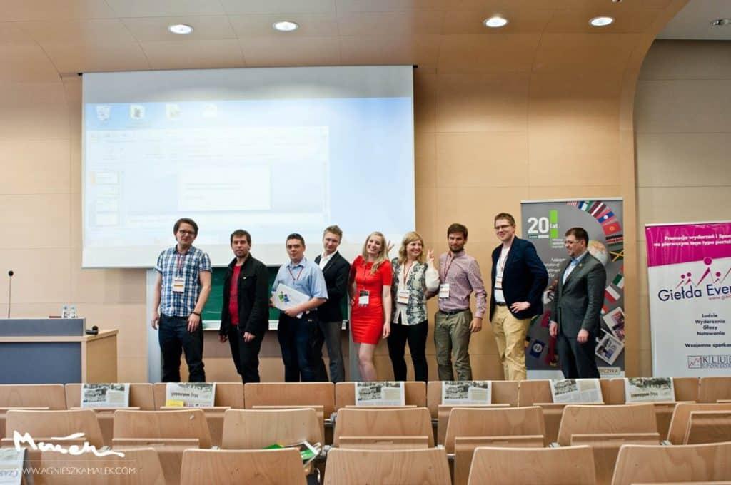 Anna Pronczuk - organizator Network Session Lublin, Wydział Ekonomiczny UMCS