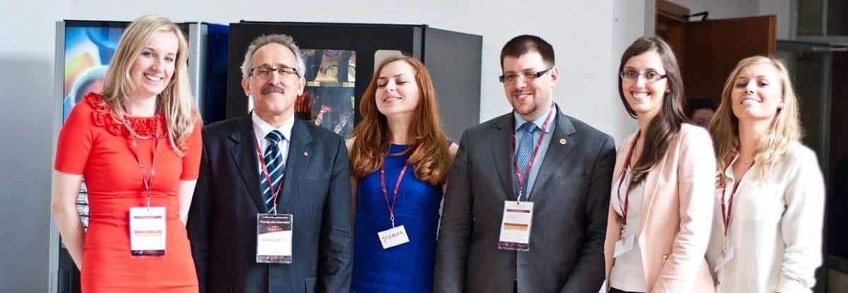 Anna Pronczuk - organizator Network Session Lublin Wydział Ekonomiczny UMCS