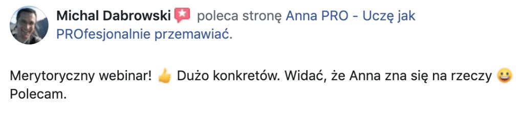 RekomendacjaMichał Dąbrowski