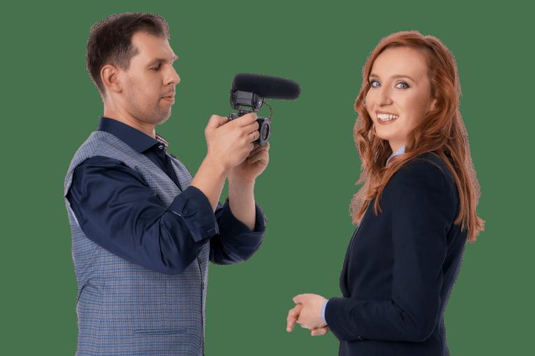 Anna PRO z kamerą i mikrofonem
