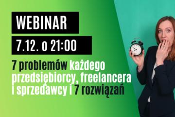 Webinar 7 problemow i 7 rozwiazan webinary Anna Pronczuk-Omiotek
